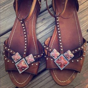 SOLD Vintage Miu Miu sandals size 39 rose quartz